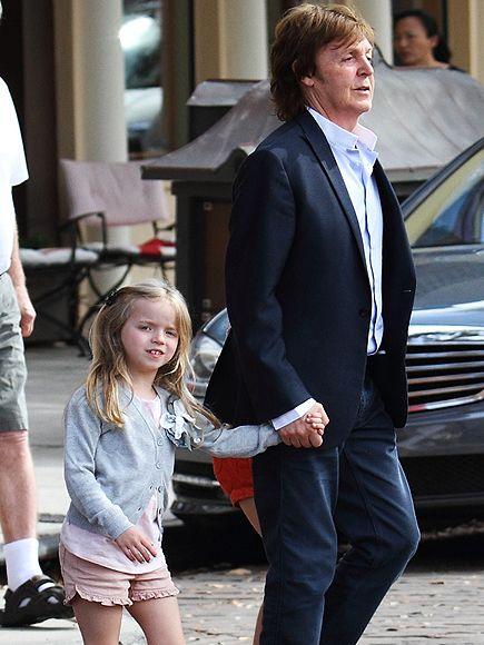 PAUL MCCARTNEY And Daughter Beatrice