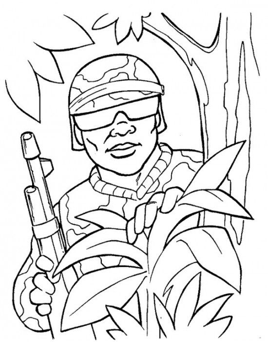 Army Coloring Pages Free Coloring Pages People Coloring Pages