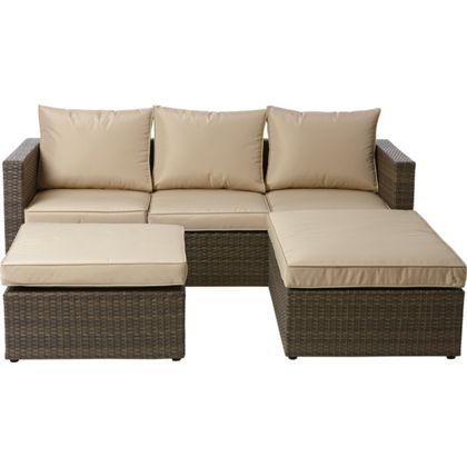 mali rattan garden corner sofa house garden. Black Bedroom Furniture Sets. Home Design Ideas