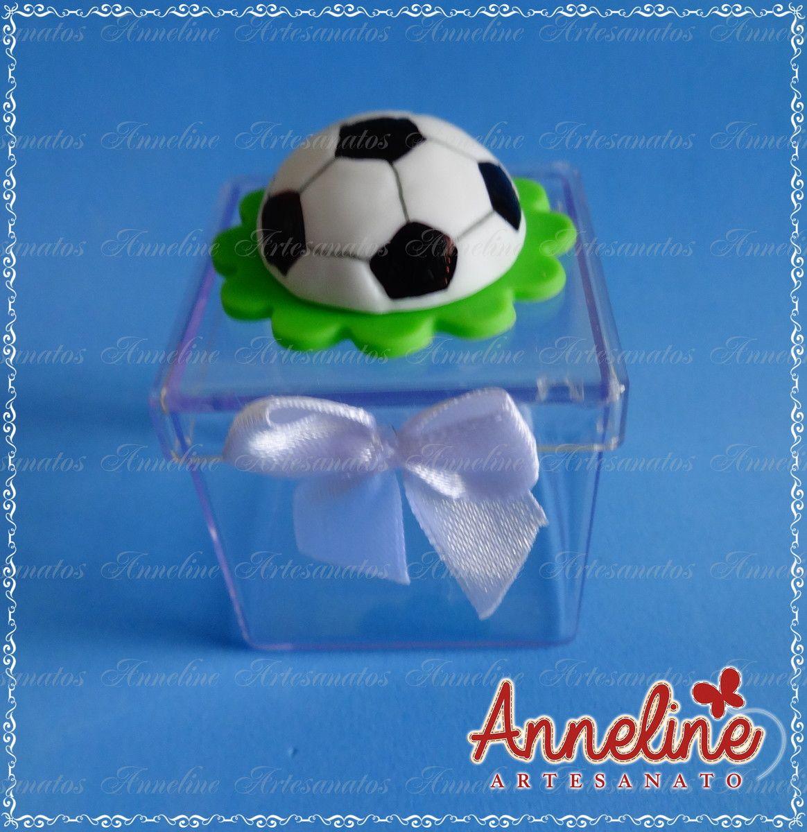 a9a8d949be Caixa Acrílica Bola de Futebol no Elo7