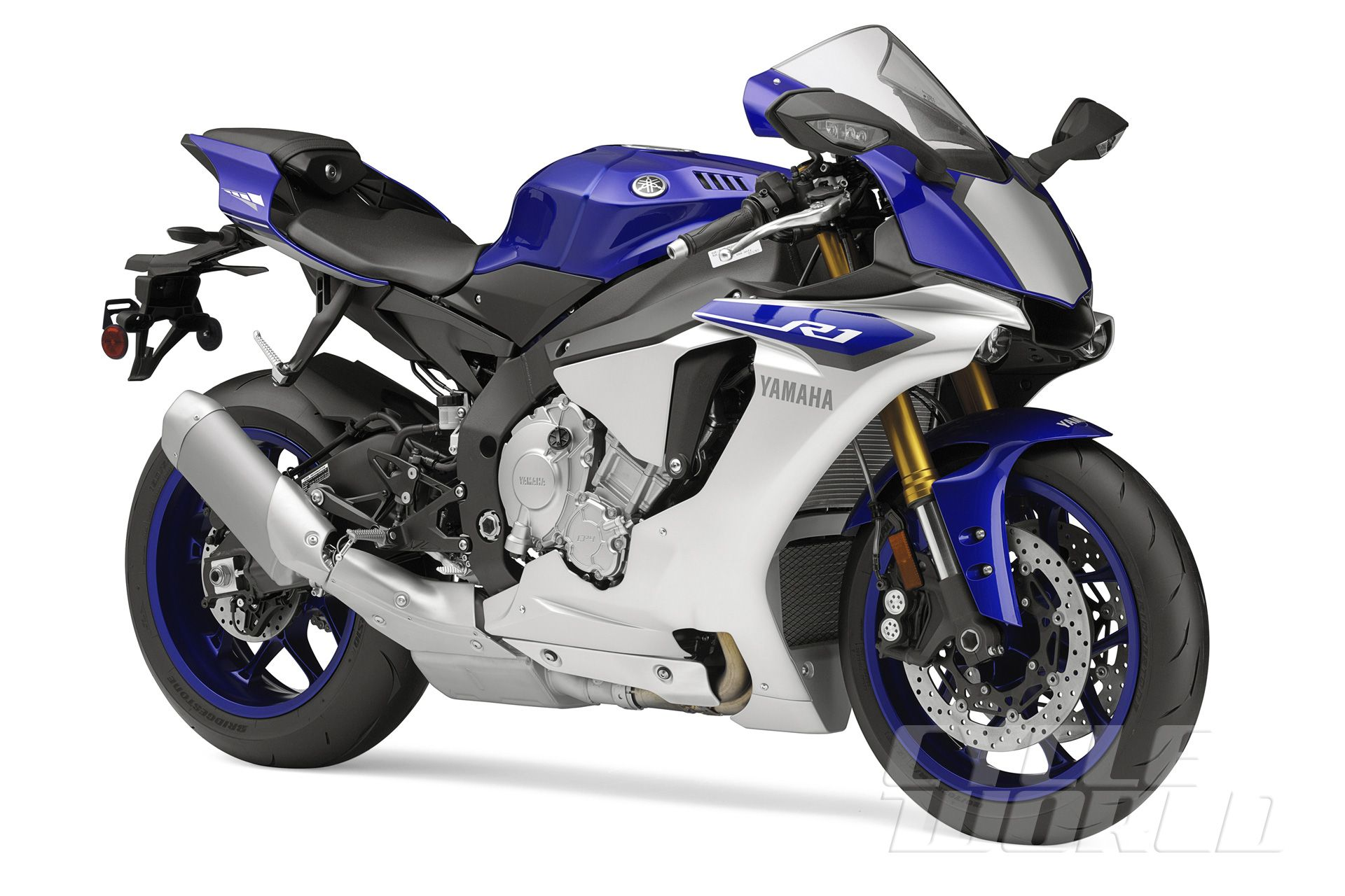 Eicma 2014 first look 2015 yamaha yzf r1 studio front 3 4
