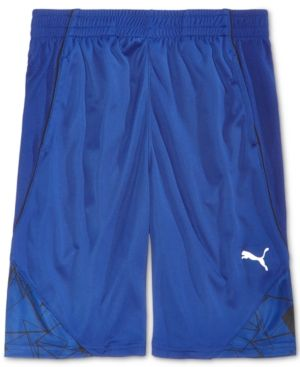 Puma Athletic Shorts, Big Boys (8-20)  - Blue XL