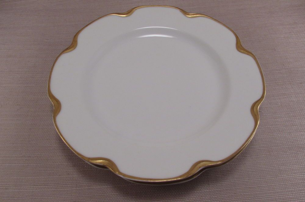Haviland China u0026 Dinnerware | eBay & Haviland Limoges China SILVER ANNIVERSARY Luncheon Plates - Set of ...