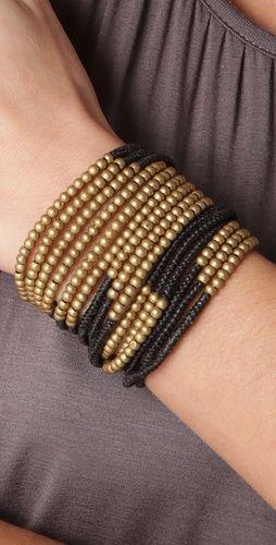 Triple Wrap Bracelet by Serefina