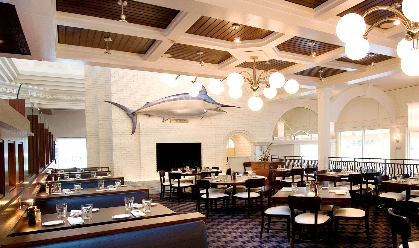 Cafe Interior Design City Fish Market Boca Raton Florida