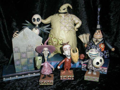 Jim Shore Disney Traditions Nightmare Before Christmas  Pc Set Ebay