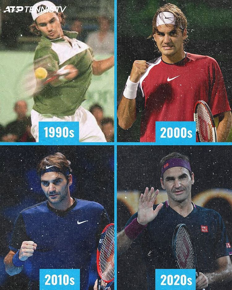 Tennis Tv On Instagram Four Decades With At Least One Match Win Federer Rogerfederer Tennis Tennistv Fed In 2020 Roger Federer Soccer Tennis Tennis Players
