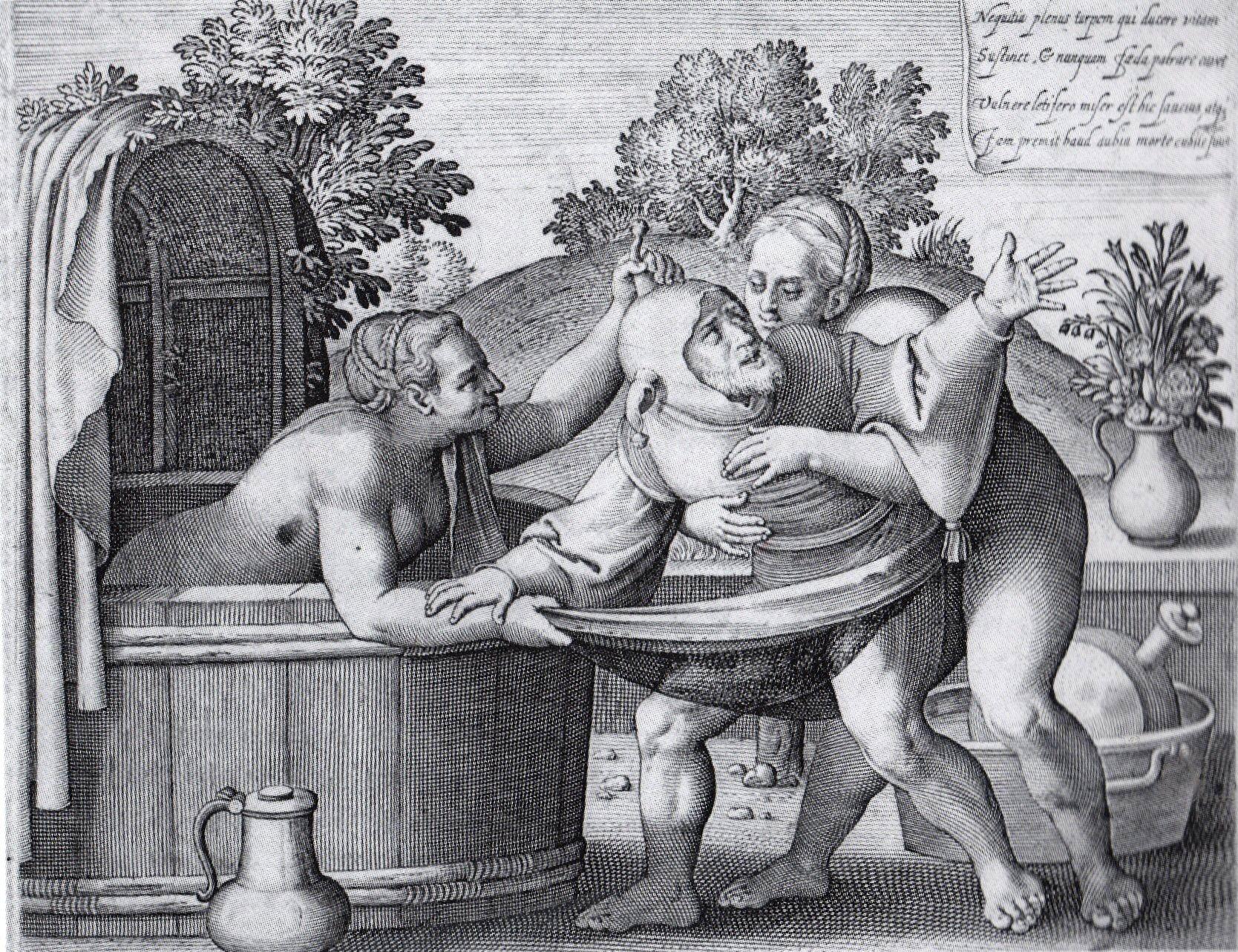 эротическое фото средневековый разврат даром себя наказать