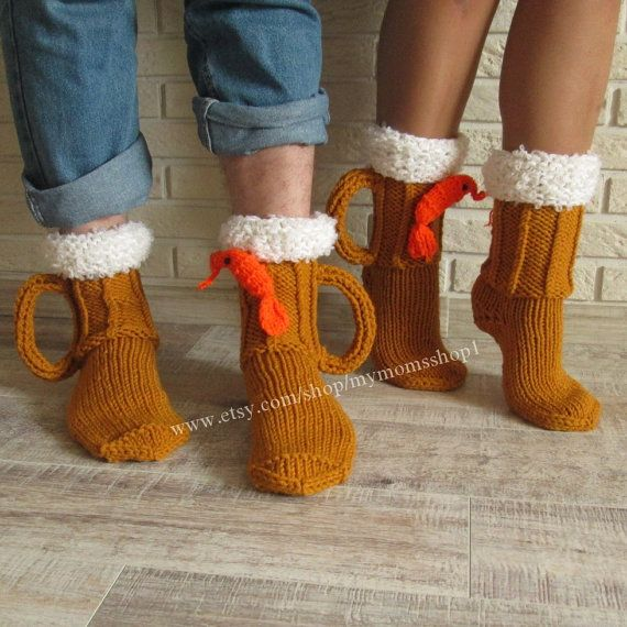 socks for men knit socks beer shrimp socks mens socks. Black Bedroom Furniture Sets. Home Design Ideas