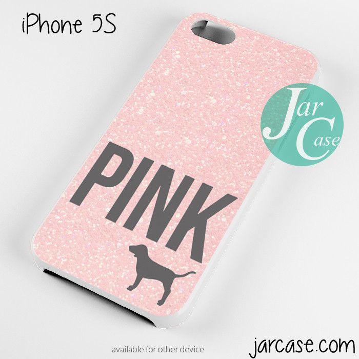 Light Glitter Pink Victoria's Secret Phone case for iPhone 4/4s/5 ...