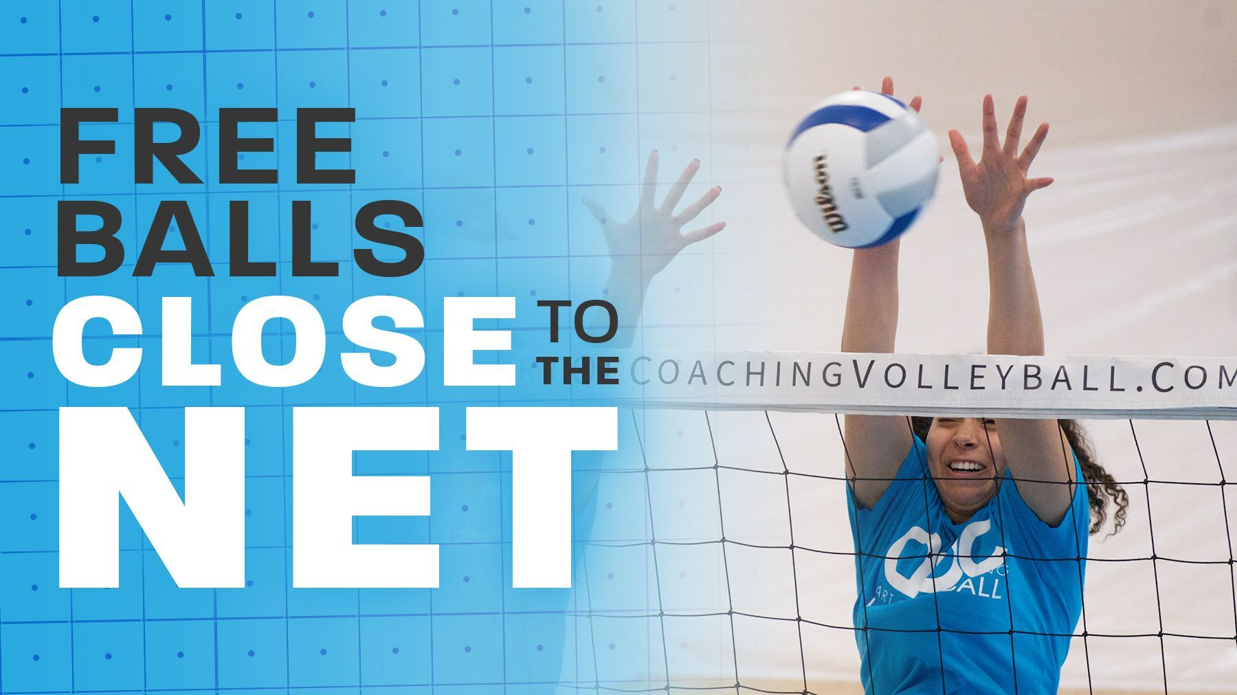 Dealing With Free Balls That Are Close To The Net Coaching Volleyball Volleyball Practice Volleyball Drills For Beginners