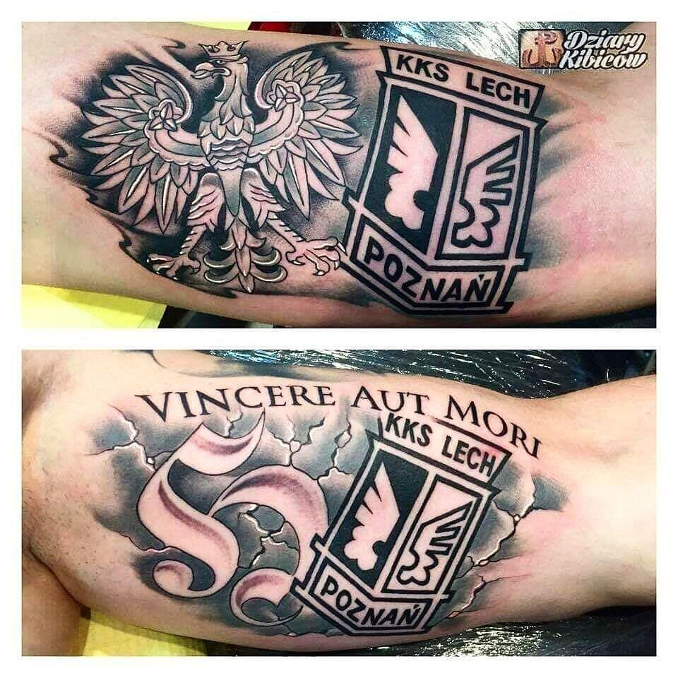 View Instagram Photo By Ultrastattoo Lech Poznań At Hooligans