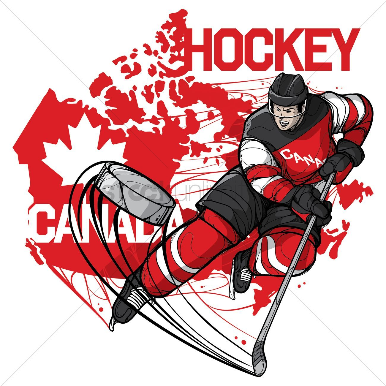You Don T Have To Be A Designer To Get Awesome Visuals Hockey Players Ice Hockey Players Hockey
