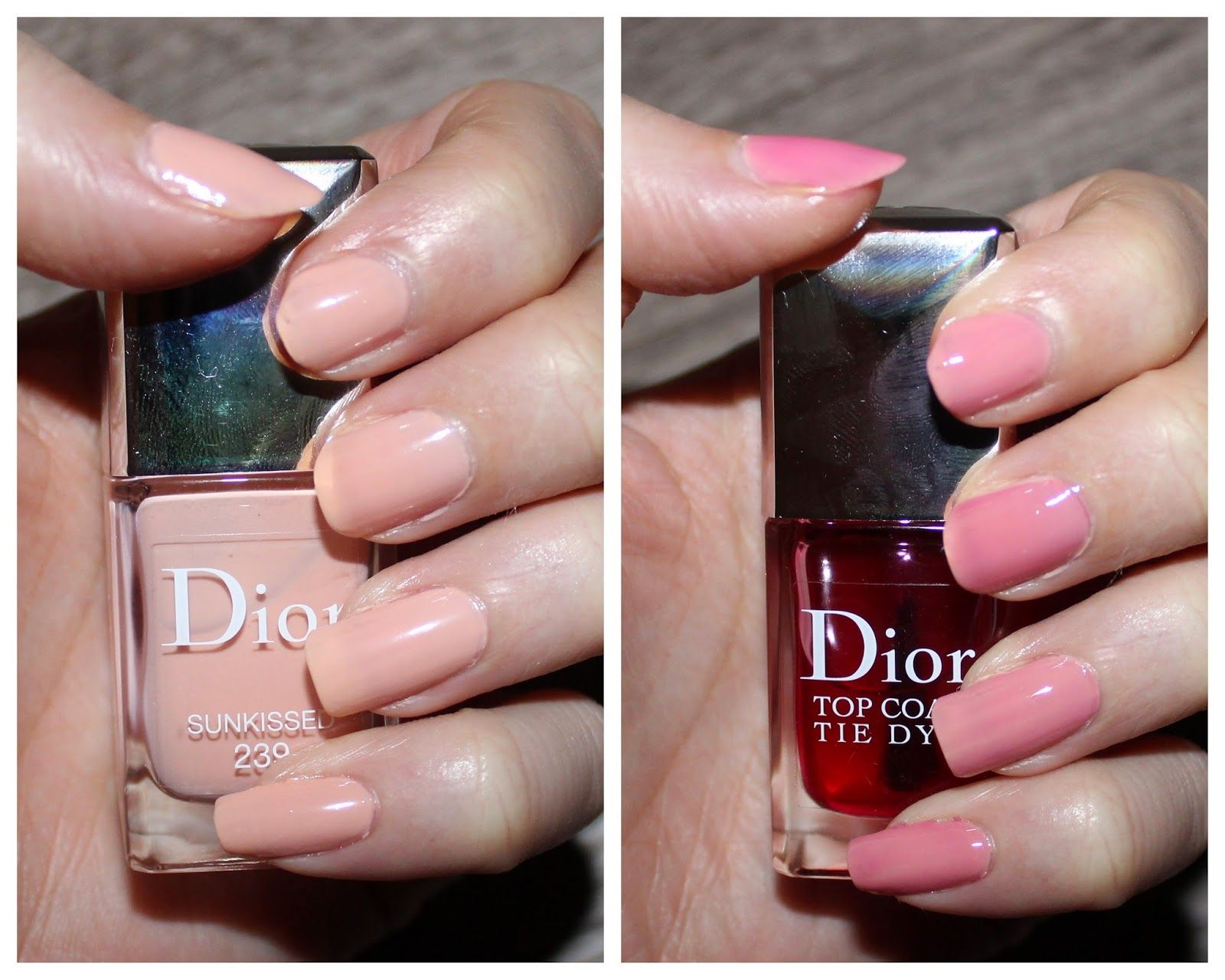 Dior Vernis Sunkissed & Tie Dye Top Coat | Nail Polish | Pinterest