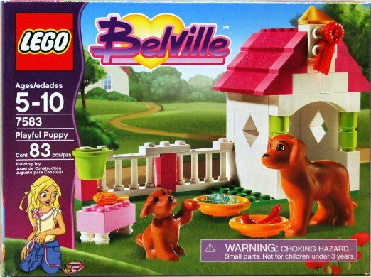 Amazon.com: LEGO Belville Playful Puppy 7583: Toys & Games http ...