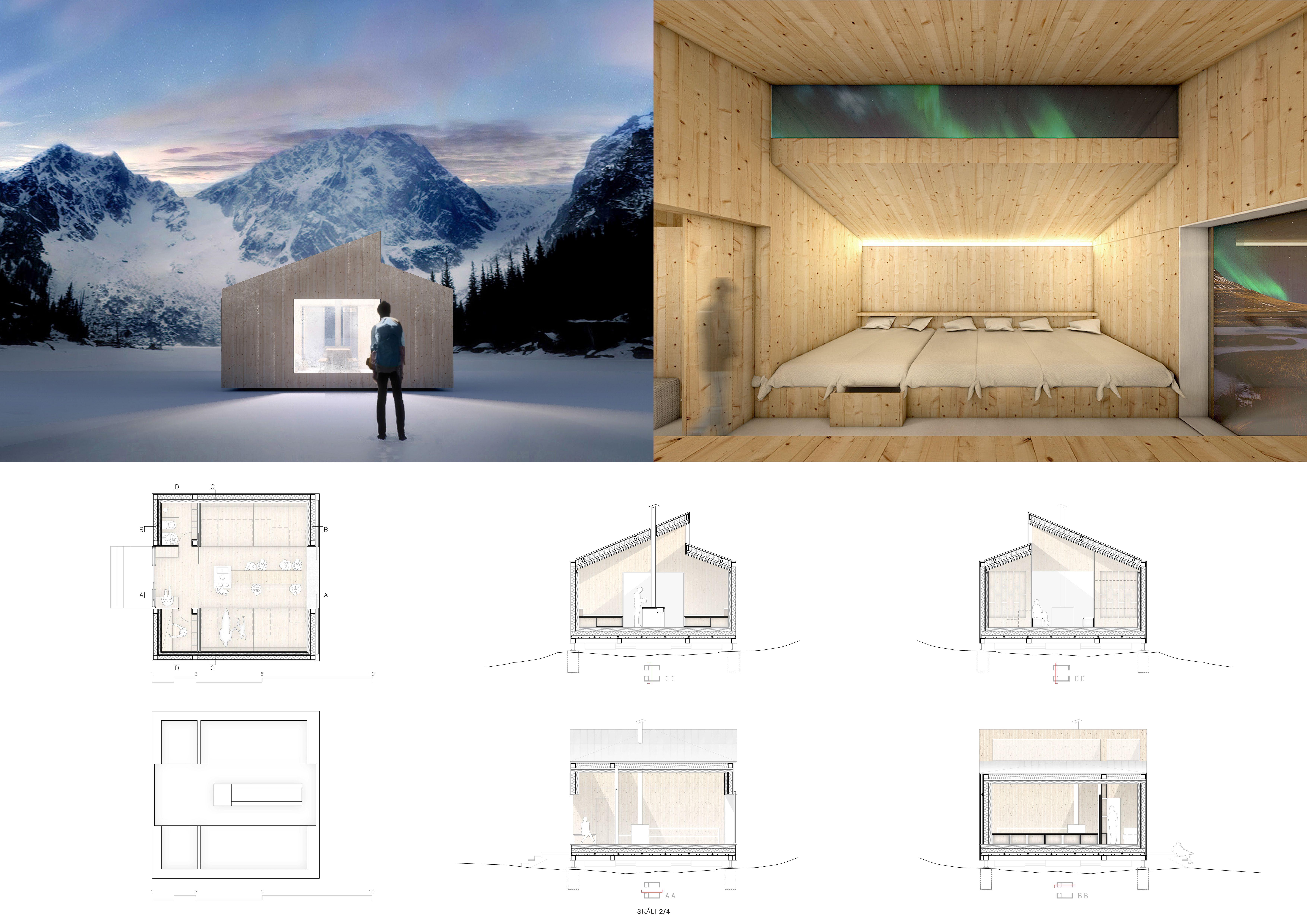 Iceland Trekking Cabins petition winners cabins Pinterest