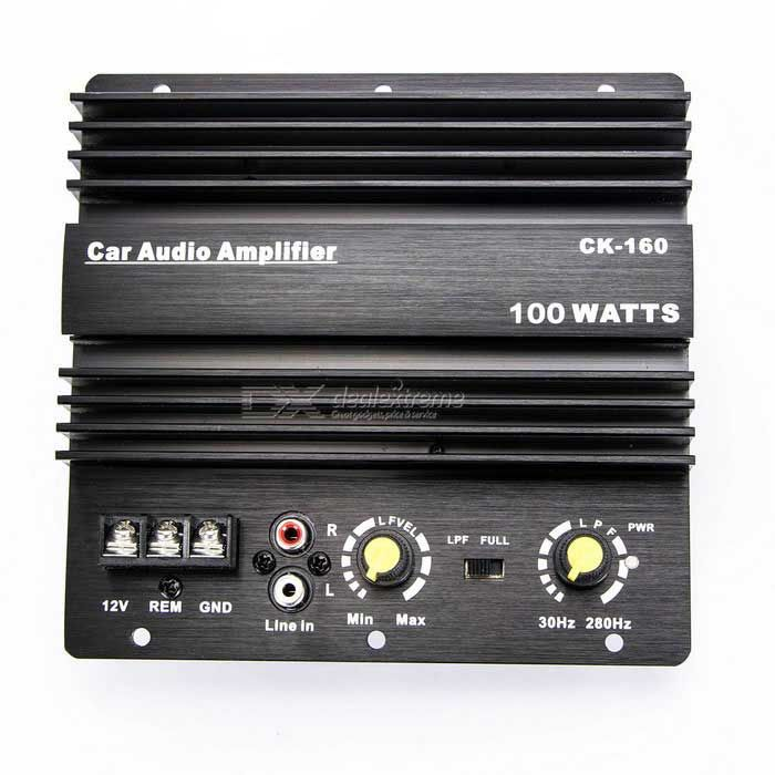 CARKING Car Aluminum Alloy Casing Stereo Audio Power Amplifier Board for 10 Inch Speaker - Black. Find the cool