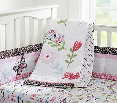 I Love The Woodlands Nursery Bedding On Potterybarnkids Com