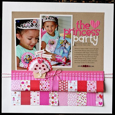 Doodlebug layout by Nancy Damiano