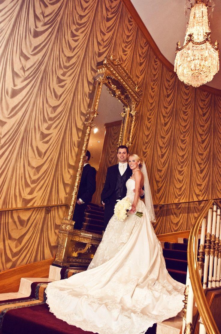 Simply stunning! Photo by Sarah M. #weddingphotographersMN #weddingdress