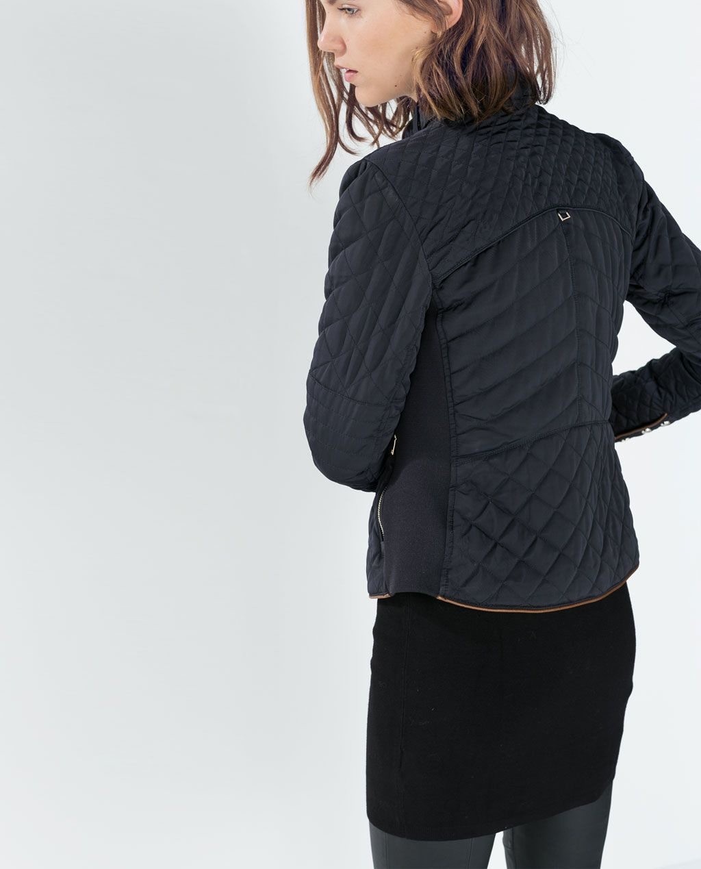 Image 4 of PADDED JACKET WITH ZIPS from Zara