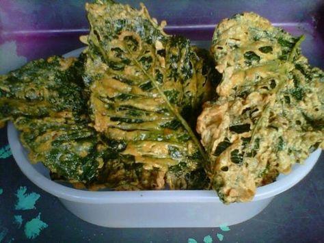 Cara Membuat Keripik Bayam Renyah Bayam Keripik Resep Masakan Indonesia