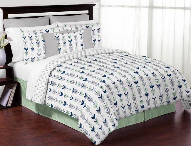 Mod Arrow Comforter Set Comforter Sets Queen Bedding Sets