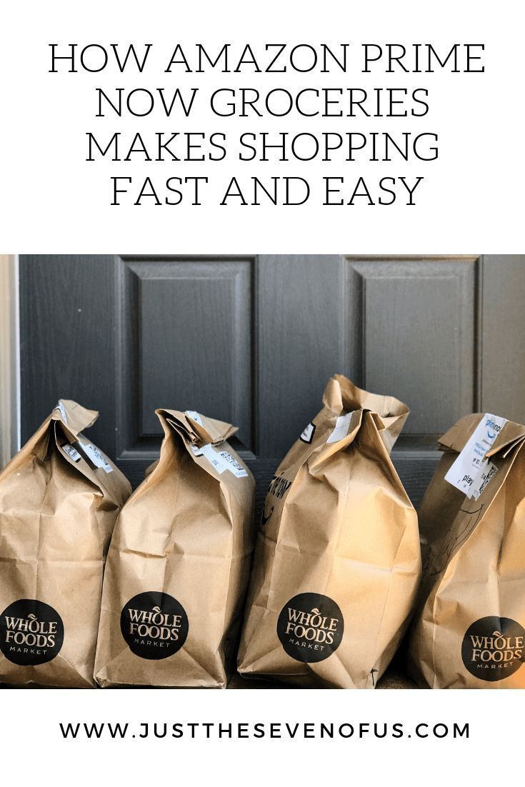 How Amazon Prime Now Groceries Makes Shopping Fast and