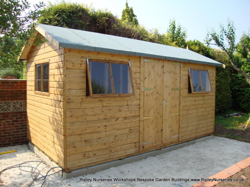 building - Garden Sheds Ripley