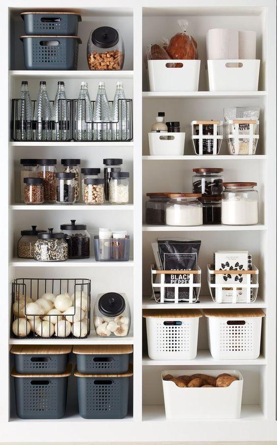 .. pantry organization ..