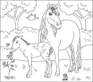 Desenhos De Cavalos Para Colorir Com Imagens Desenhos Cavalo