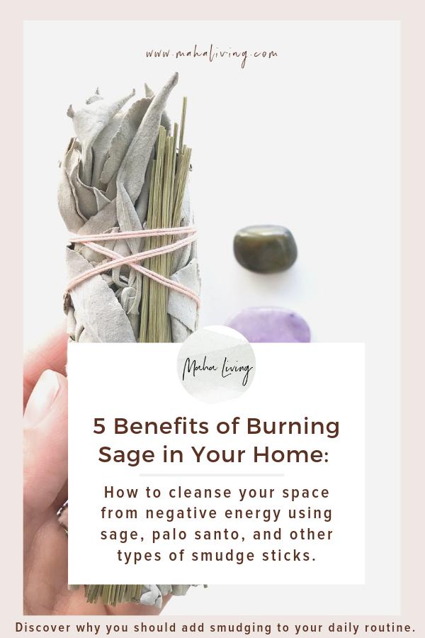 5 Reasons You Should Smudge Benefits Of Burning Sage Burning Sage Smudging