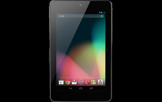 Google's Nexus 7 Tablet Coming to India in November Spec