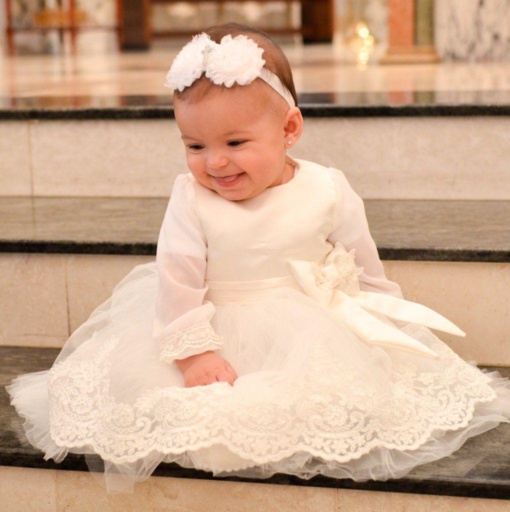 Izabel Dress White Christening Gowns Girls Baby Christening Gowns Christening Gowns [ 1024 x 1020 Pixel ]