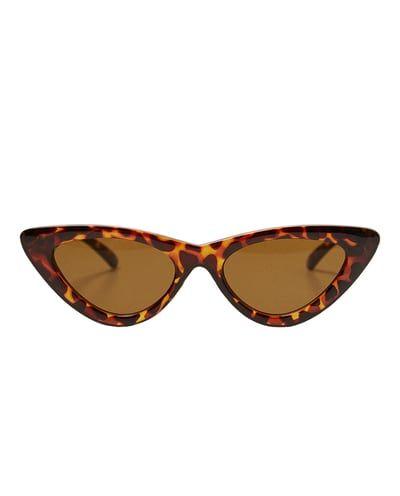 0318529bb2 SLIM CAT S EYE SUNGLASSES-Eyewear-ACCESSORIES-WOMAN-SALE