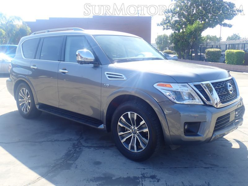 Salvage 2019 Nissan Armada for Sale in California Nissan