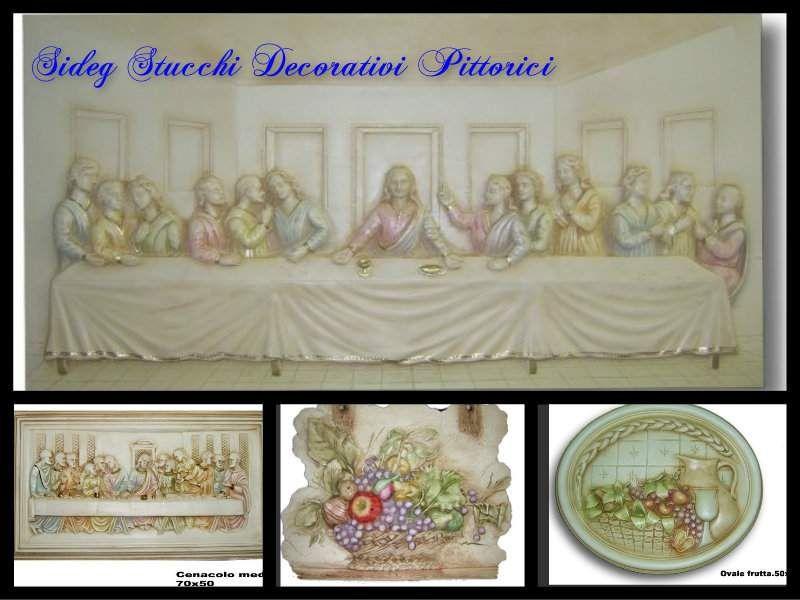 Quadri in gesso 1111 | bassorilievi decorati | Gesso ...
