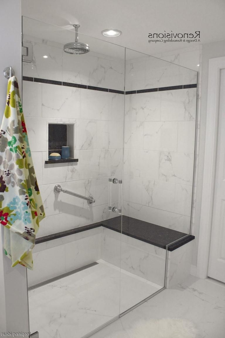 Awesome Bathroom Curbless Shower Decor Ideas | besthomestyle | Home ...
