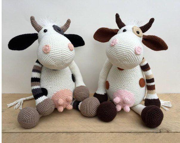 Amigurumi Vaca : Vaca dora pdf crochet pdf amigurumi and crochet