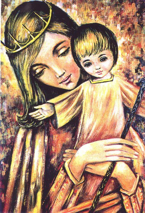 La Virgen Mara  Madre de Todos  religion  Pinterest