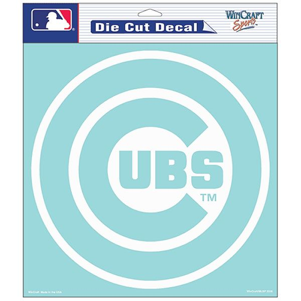 Chicago cubs die cut logo decal by wincraft chicago cubs chicagocubs