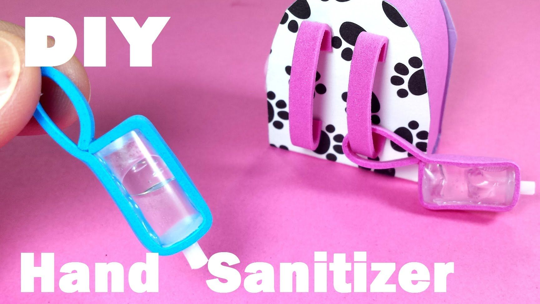 Diy Miniature Hand Sanitizer Doll Diy Crafts Lps Crafts