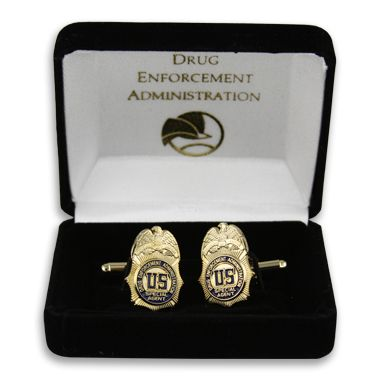 From the DEA Educational Foundation Gift Shop: DEA Badge cufflink ...