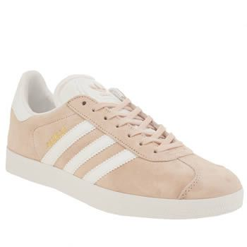 Adidas Pale Pink Gazelle Mens Trainers Whats the saying? Real men wear  pink? Arriving
