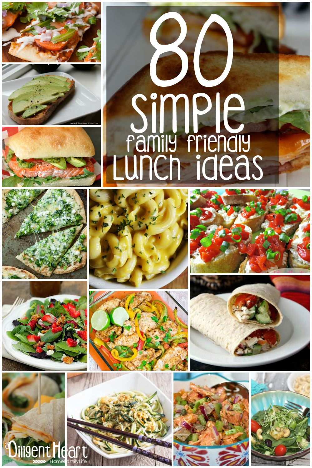 Simple Family Friendly Lunch Ideas Lunches