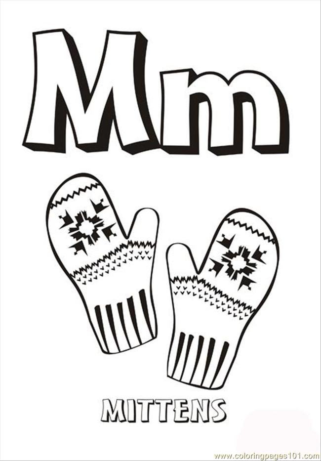 Alphabet Letter M Coloring Page For Kids And Adults From Education Pages Alphabets