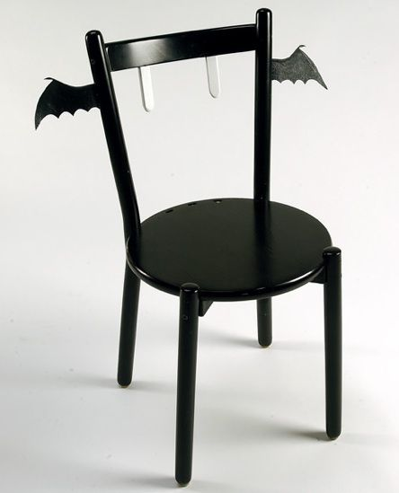 ☆ Vampire Bat Chair ☆ Awesome Stuff Pinterest Room decor