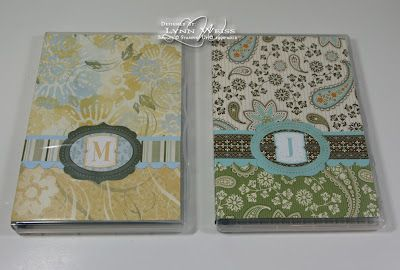 recycling crafts ideas lw designs altered stampin up clear stamp dvd cases 2820