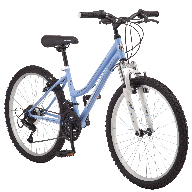 Roadmaster 24 Granite Peak Girls Mountain Bike Light Blue Walmart Com In 2020 Mountain Bike Girls Mountain Biking Mountain Bike Lights