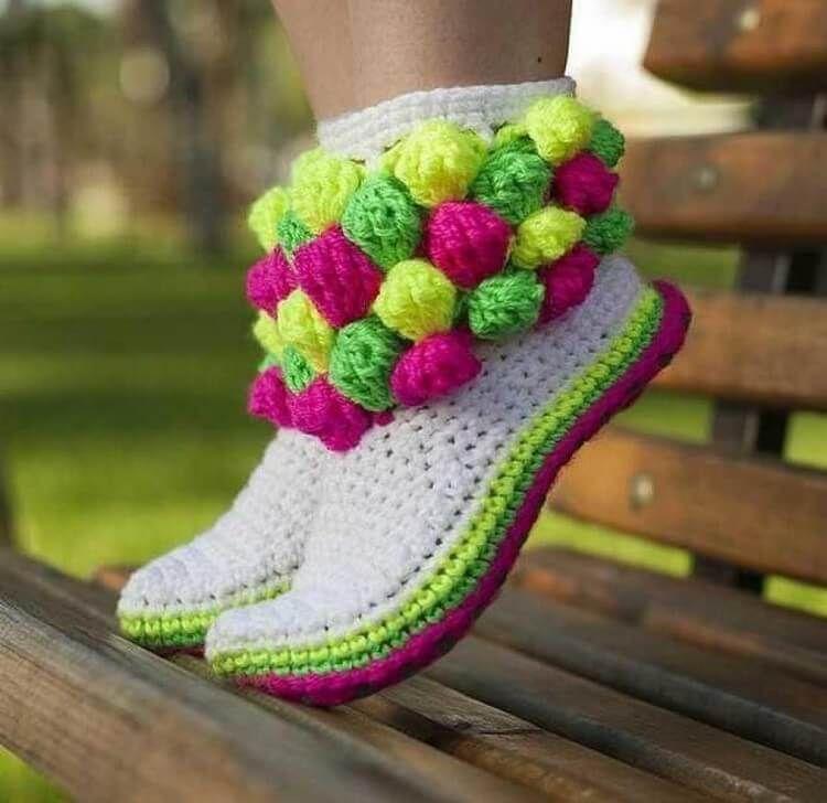 Cute Crochet Shoes